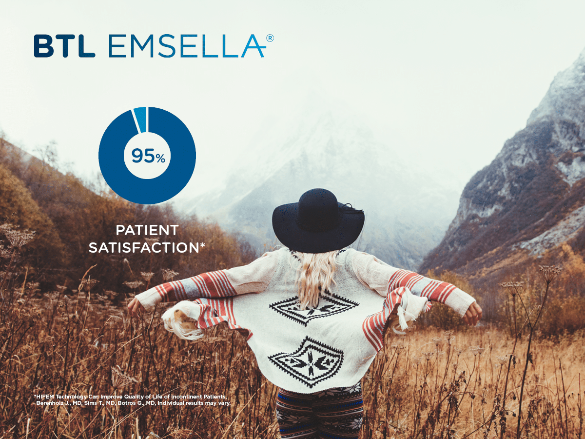 BTL EMSELLA Urinary Leakage Treatment Services in Chicago